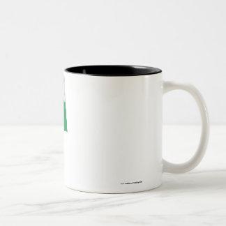 Lääne-Viru Waving Flag Two-Tone Coffee Mug
