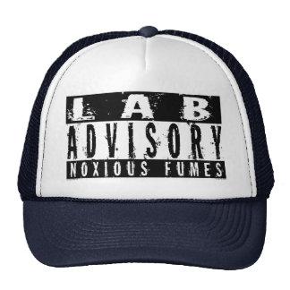 Lab Advisory Noxious Fumes Trucker Hat