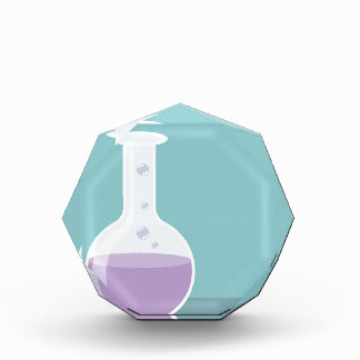 Lab beaker acrylic award
