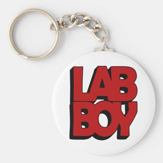 LAB BOY BIG RED LABORATORY KEYCHAIN