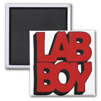 LAB BOY BIG RED LABORATORY MAGNET