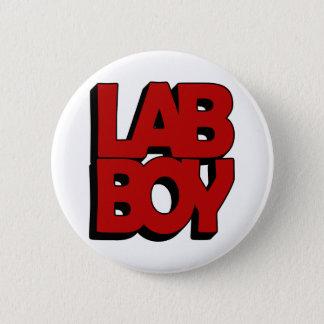 LAB BOY BIG RED LABORATORY PINBACK BUTTON