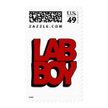 LAB BOY BIG RED LABORATORY POSTAGE STAMPS