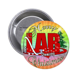 LAB CHEMISTRY CHRISTMAS PIN