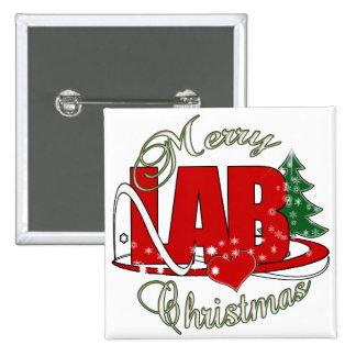 LAB CHRISTMAS LABORATORY BUTTONS