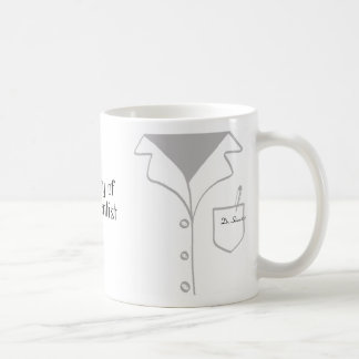 Lab coat mug - fully customizable!