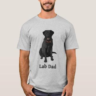 Lab Dad Black Labrador Retriever T-Shirt