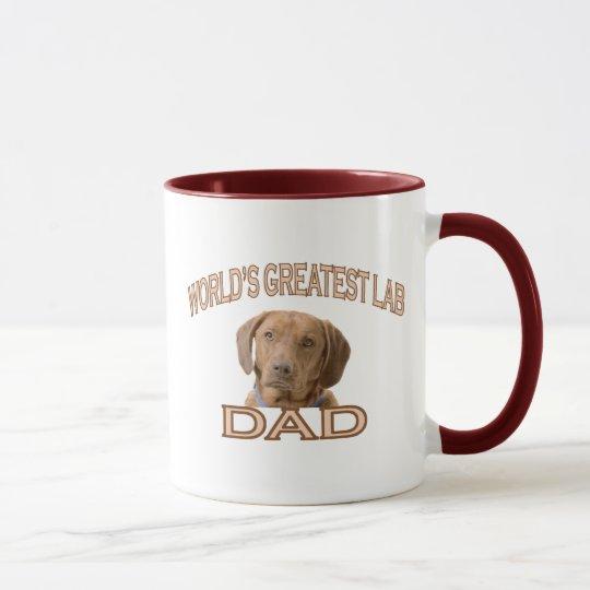 Lab Dad Mug