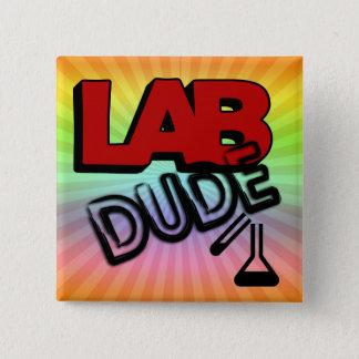 LAB DUDE - LABORATORY BUTTON