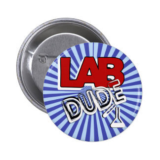 LAB DUDE - LABORATORY BUTTONS