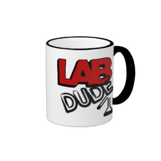 LAB DUDE - LABORATORY COFFEE MUGS