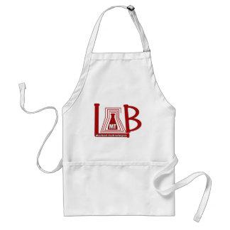 LAB FLASK LOGO MT - MEDICAL TECHNOLOGIST ADULT APRON