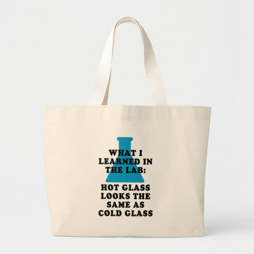 Lab Glass Canvas Bags