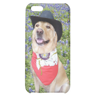 Lab in Bluebonnets iPhone 5C Case