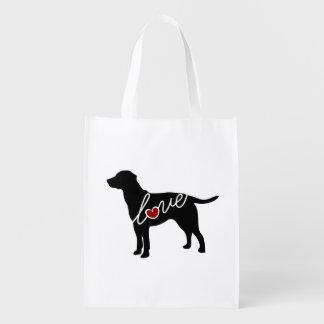 Lab Love Grocery Bag