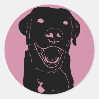 Lab Love Sticker Round