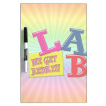 LAB MOTTO LABORATORY WE GET RESULTS! Dry-Erase BOARDS