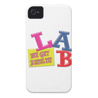 LAB MOTTO LABORATORY WE GET RESULTS! iPhone 4 COVER