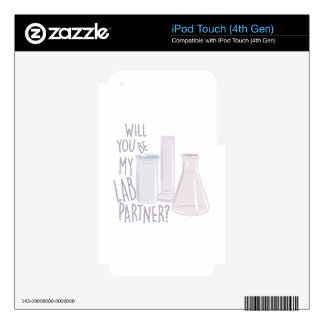 Lab Partner Decal For iPod Touch 4G