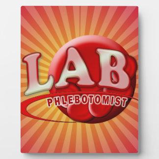 LAB PHLEBOTOMIST RBC LOGO PLAQUE