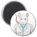 Lab Rat 2 Inch Round Magnet