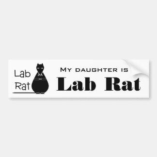 Lab Rat Bumper Sticker