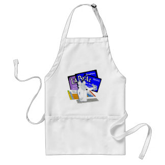 Lab Rat Spelled with Elements from Periodic Table Adult Apron