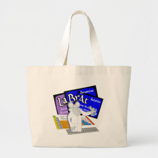 Lab Rat Spelled with Elements from Periodic Table Tote Bag