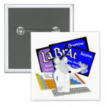 Lab Rat Spelled with Elements from Periodic Table Pinback Buttons