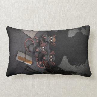 Lab Rats Unite Lumbar Pillow