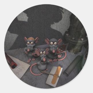 Lab Rats Unite Sticker
