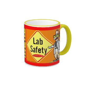 """Lab Safety-is No Joke"" Mugs"
