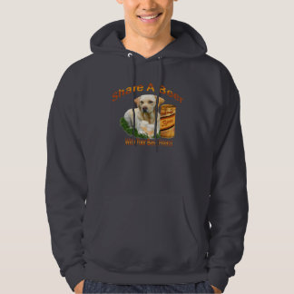 Lab Shares A Beer Hooded Sweatshirt