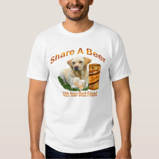 Lab Shares A Beer tank top