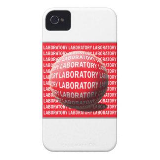 LAB SPHERE 'O BLOOD - LABORATORY LOGO Case-Mate iPhone 4 CASE