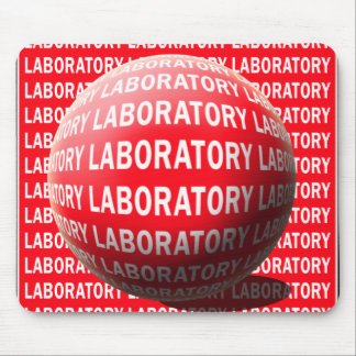 LAB SPHERE 'O BLOOD - LABORATORY LOGO MOUSE PAD