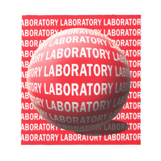 LAB SPHERE 'O BLOOD - LABORATORY LOGO NOTE PADS