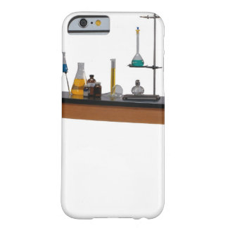 Lab table with chemicals barely there iPhone 6 case
