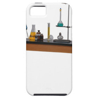 Lab table with chemicals iPhone SE/5/5s case