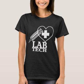 LAB TECH HEART. SYRINGE LOGO MEDICAL LABORATORY SC T-Shirt