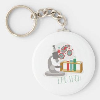 Lab Tech Keychain