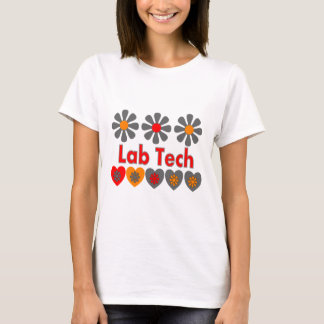 Lab Tech RETRO flowers T-Shirt