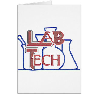Lab Tech with Beakers and Flasks (Laboratory Tech) Cards