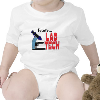 LAB TECH with MICROSCOPE Shirts