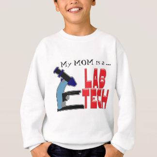 LAB TECH with MICROSCOPE Sweatshirt