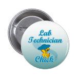 Lab Technician Chick #3 Pins