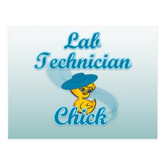 Lab Technician Chick #3 Postcard
