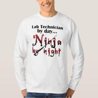 Lab Technician Ninja T-Shirt