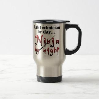 Lab Technician Ninja Travel Mug