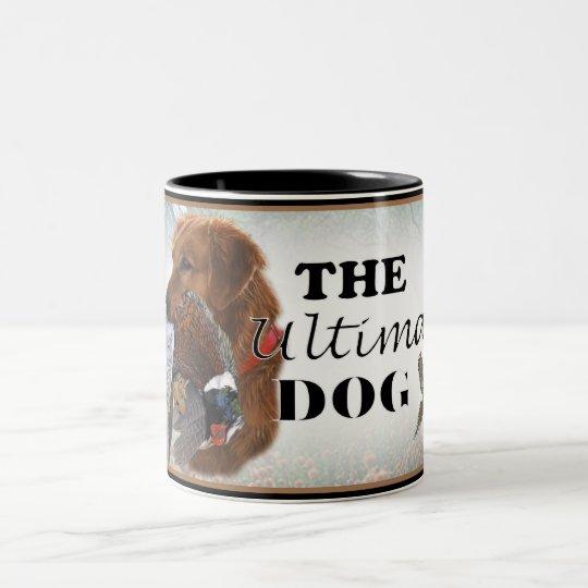 Lab The Ultimate Hunting Dog Two-Tone Coffee Mug